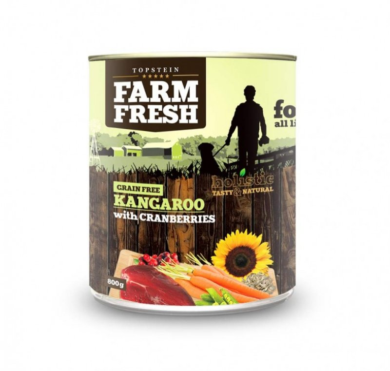 Farm Fresh - KANGAROO with CRANBERRIES